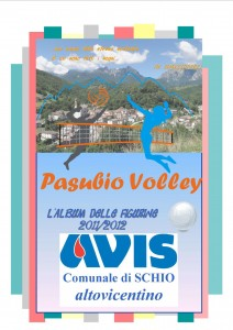 Copertina Album Figurine Pasubio Volley