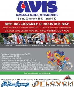 mountain bike schio: trofeo AVIS