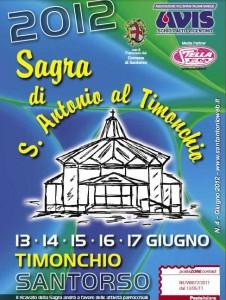 Sagra Sant'Antonio Timonchio 2012 sponsor avis schio altovicentino