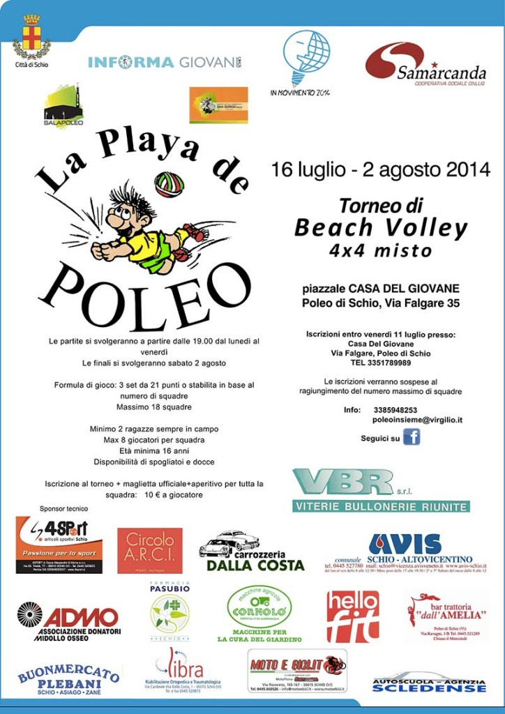 Playa de Poleo Avis - Torneo Beach Volley
