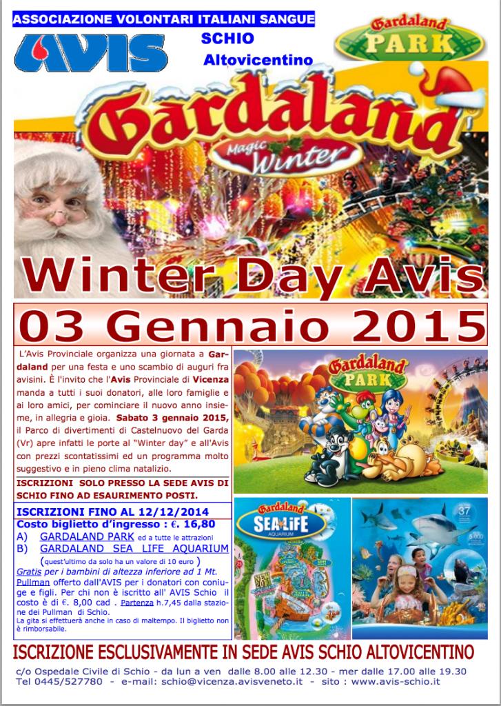 Winter Day Avis Gardaland - gennaio 2015