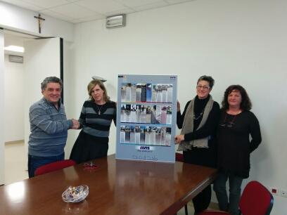 consegna quadro DG Carraro Daniela